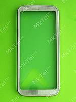 Передняя панель Nokia 5530 Оригинал Белый с розовым