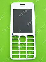 Передняя панель Nokia Asha 206 Dual SIM Оригинал Белый