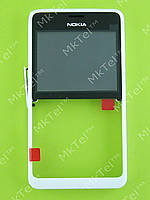 Передняя панель Nokia Asha 210 Dual SIM Оригинал Белый