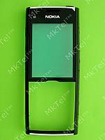 Передняя панель Nokia X2-00 Оригинал Черный глянцевый