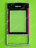 Передняя панель Nokia X3-00, серебристый, Оригинал #0254842