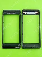 Передняя панель Sony Ericsson U10 Aino Оригинал Черный