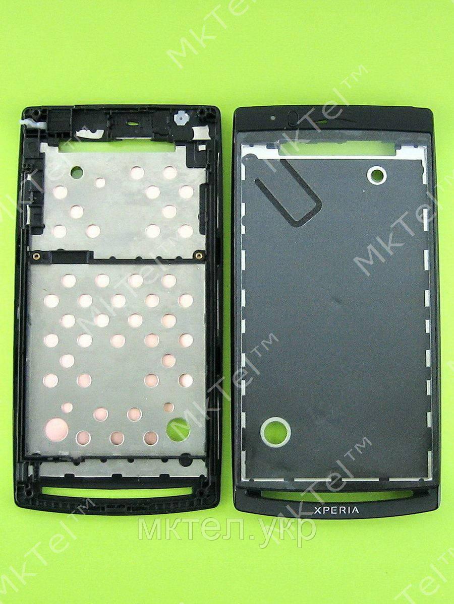 Передняя панель Sony Ericsson Xperia Arc LT15i Оригинал Китай Черный - Интернет-магазин MkTel™ в Киевской области