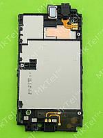 Рамка дисплея Nokia Lumia 520 с динамиком, разъемом гарнитуры Оригинал