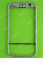 Рамка передней панели Nokia N96 Оригинал Серебристый