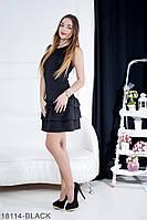 Женское платье Подіум Sandra 18114-BLACK XS Черный