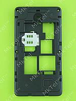 Средняя часть Nokia Asha 210 Dual SIM Оригинал Черный