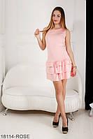 Женское платье Подіум Sandra 18114-ROSE XS Розовый