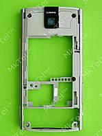 Средняя часть Nokia X3-00 в сборе, серебристый, Оригинал #0254688