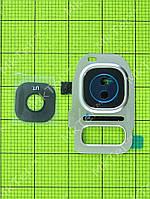 Стекло камеры Samsung Galaxy S7 G930F, золотистый orig-china
