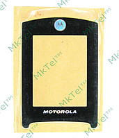 Стекло корпуса, внутреннее Motorola RAZR2 V8 Оригинал Китай Черный