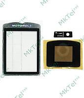 Стекло корпуса, комплект Motorola RAZR V3xx Копия Черный
