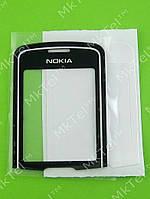 Стекло передней панели Nokia 8600 Luna Копия АА Черный