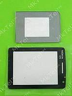 Стекло передней панели Nokia N76, комплект Оригинал Китай Зеркальный