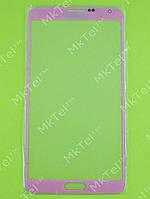 Стекло передней панели Samsung Galaxy Note 3 N9000, розовый copy