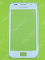 Стекло передней панели Samsung Galaxy S i9000, белый copyAA