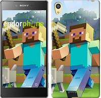 "Чехол на Sony Xperia Z5 Minecraft 4 ""2944u-274"""