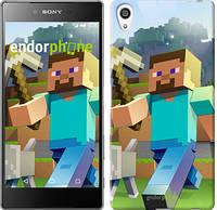 """Чехол на Sony Xperia Z5 Premium Minecraft 4 """"2944u-345"""""""