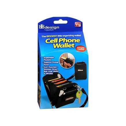 Гаманець-портмоне Cell Phone Wallet 4 в 1, універсальний гаманець органайзер, фото 2