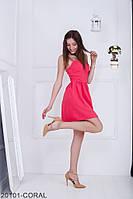 Женское платье Подіум Siberian 12101-CORAL S Оранжевый