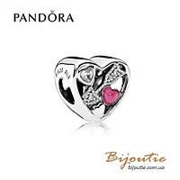 Pandora Шарм СТРЕЛЫ ЛЮБВИ #792039CZ серебро 925 Пандора оригинал