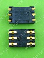 Коннектор SIM карты Nokia 1100 Оригинал Китай