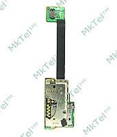 Коннектор SIM карты Nokia E90, карты памяти на плате Оригинал Китай