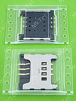 Коннектор SIM карты Samsung S3650 Corby Оригинал