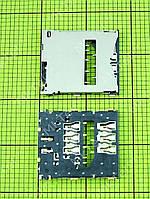 Коннектор SIM карты Sony Xperia Z C6602, orig-china