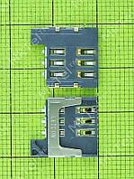 Коннектор SIM2 карты FLY FS452 Nimbus 2 Оригинал