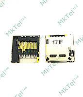 Коннектор карты памяти Sony Ericsson K810 Оригинал Б/У