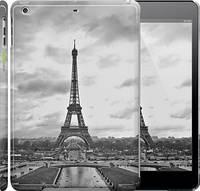 "Чехол на iPad 5 (Air) Чёрно-белая Эйфелева башня ""842c-26"""