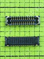 Коннектор платы Nokia 225 Dual SIM CONN BTB 2*12 Оригинал