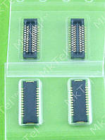 Коннектор платы Nokia Asha 205 SM CONN B2B 2X12 Оригинал