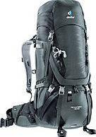 Классный спортивный рюкзак DEUTER Aircontact 45+10 SL 3320116 4700 цвет серый