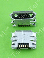 Разъем USB Nokia 8800 Arte 5POL MICRO-USB AB TYPE P0.65 Оригинал Китай