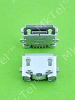 Разъем USB Nokia 8800 Arte 5POL MICRO-USB AB TYPE P0.65 Оригинал