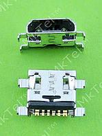 Разъем USB Samsung Galaxy Ace 2 i8160 MINI USB 6pin Оригинал Китай