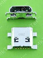 Разъем USB Samsung Galaxy Ace 2 i8160 MINI USB 6pin Оригинал