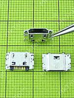 Разъем USB Samsung Galaxy J1 Duos J100H 5pin Оригинал Китай