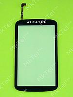 Сенсорный экран Alcatel OT-818 Копия А Черный