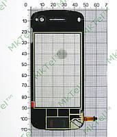 Сенсор China Mobile 49х110х67x00x22x101xD1 N97 Копия Черный