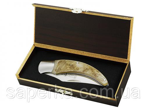 Нож универсальный. Рукоять из рога Grand Way 129 YJ (BOX), фото 2