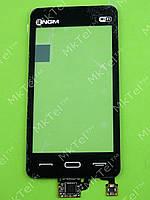 Сенсорный экран FLY E950 NGM logo Оригинал Китай Черный