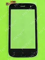 Сенсорный экран FLY IQ442 Miracle Копия АА Черный