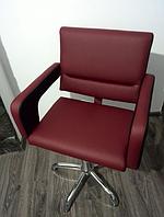 Кресло парикмахерское FLAMINGO на пневматике хром
