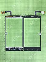 Сенсорный экран FLY IQ4505 ERA Life 7 Оригинал Китай Черный