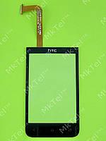 Сенсор HTC Desire 200, черный self-welded