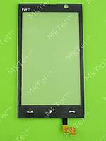 Сенсор HTC Max 4G T8290, черный orig-china