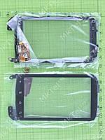Сенсор HTC Nexus One рамой Оригинал Китай Черный